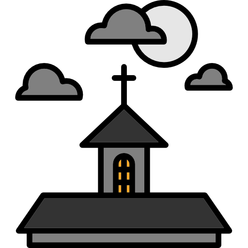 Halloween, Horror, Terror, Spooky, Scary, Fear, Haunted House Icon