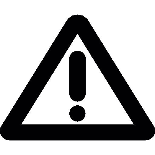 Hazard Sign Icons Free Download