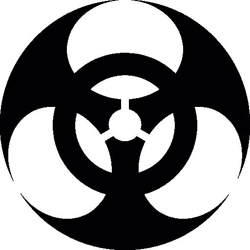 Biological Hazard Symbol Icons Free Download