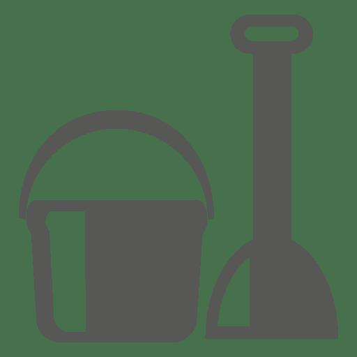 Tile Scrubber Bucket Icon
