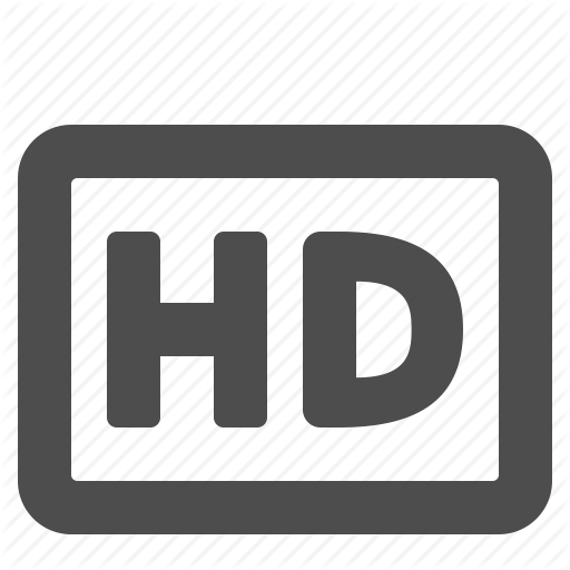 Definition, Hd, High, Movie, Video Icon