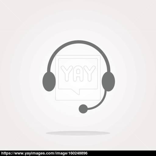 Headphone Icon Headphone Icon Vector Headphone Icon Art