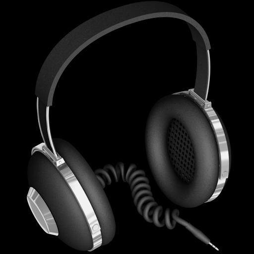 Rubber Headphones Icon