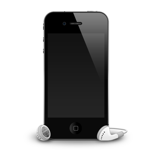Iphone Headphones Shadow Icon Iphone Iconset Mdgraphs