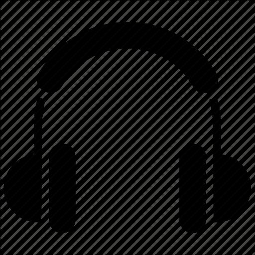 Earbuds, Earphones, Headphones, Headset, Wireless Headphones Icon