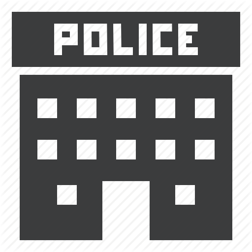 Building, Headquarters, Institution, Law, Legal, Office, Police Icon