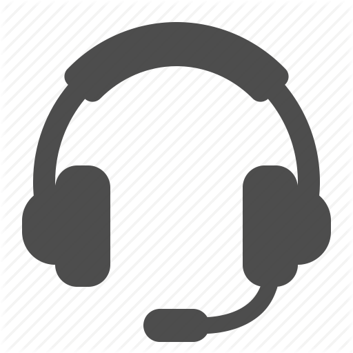 Call Centre, Customer Support, Headphones, Headset, Microphone Icon