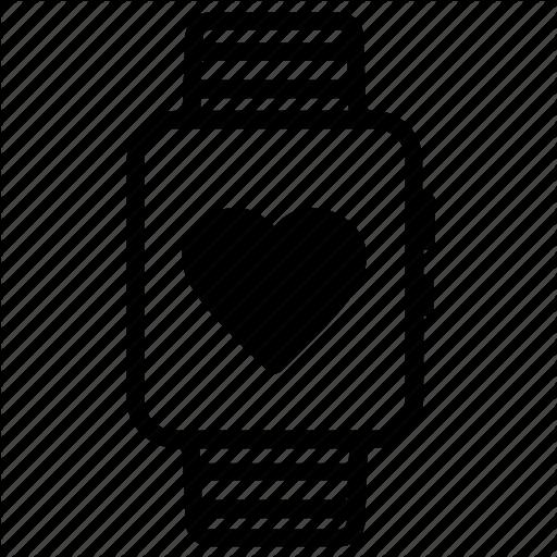 Health, Healthcare, Heart, Medical, Smart, Tech, Watch Icon