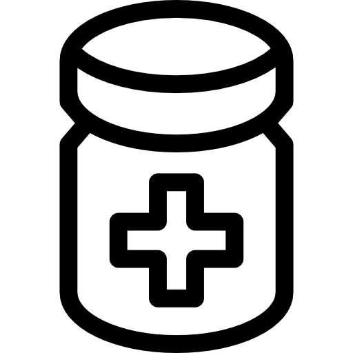 Pills Jar Icons Free Download