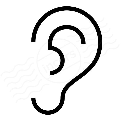 Iconexperience I Collection Ear Icon