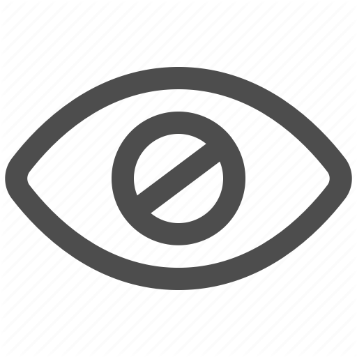 Accessibility, Blind, Blindness, Impaired, Vision Icon