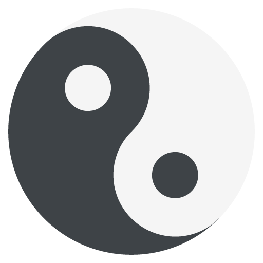 Yin Yang Emoji For Facebook, Email Sms Id
