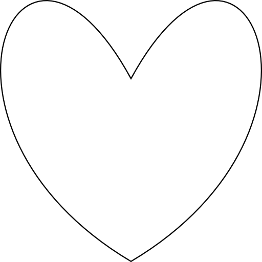 Simple Heart Clipart