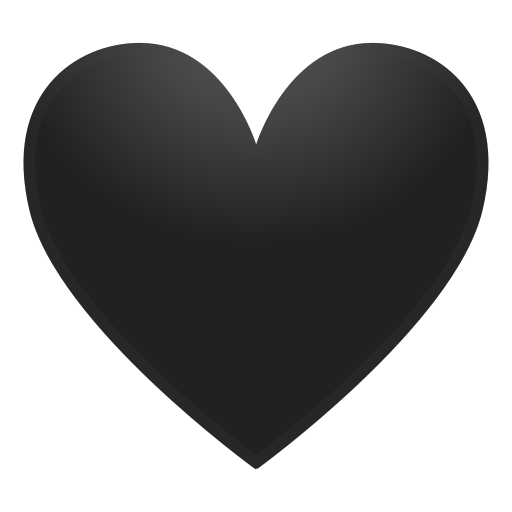 Black Heart Emoji Meaning With Pictures From A To Z