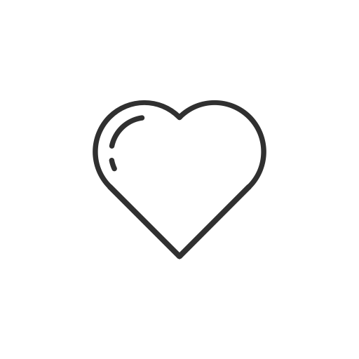 Heart, Love, Facebook, Emoji Icon