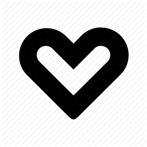 Favorite, Heart, Like, Outline, Outlined Heart Icon