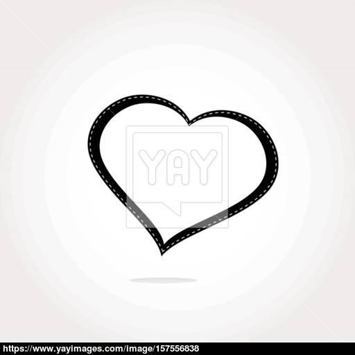 Heart Icon Vector Heart Icon Background Heart Icon Button