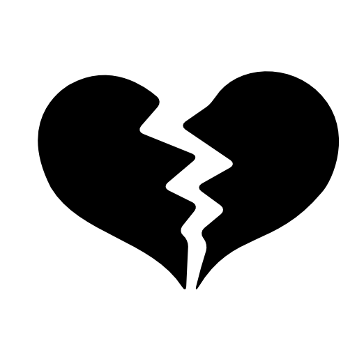 Broken Heart Icon Free Icons Download