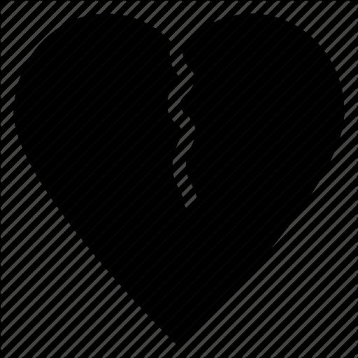 Breakup, Broken Heart, Divorce, Flirting, Heartbreak Icon Icon