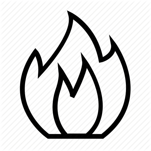 Electric, Electricity, Energy, Fire, Heat, Power Icon