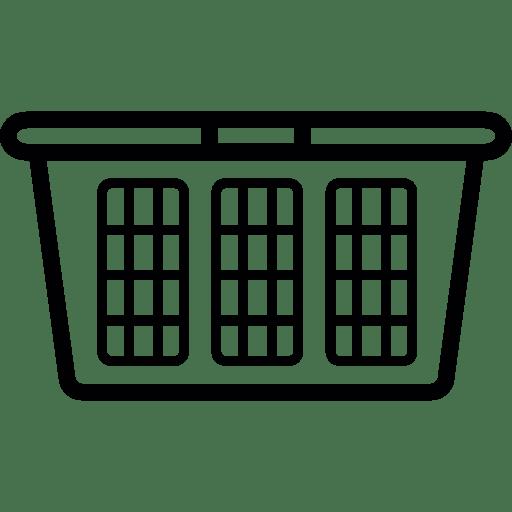 Laundry Basket Free Fashion Icons, Laundry Basket Icon