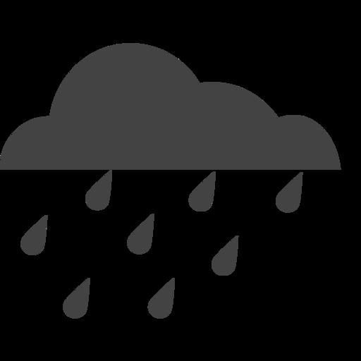 Cloud Rain Heavy Rain Pngicoicns Free Icon Download