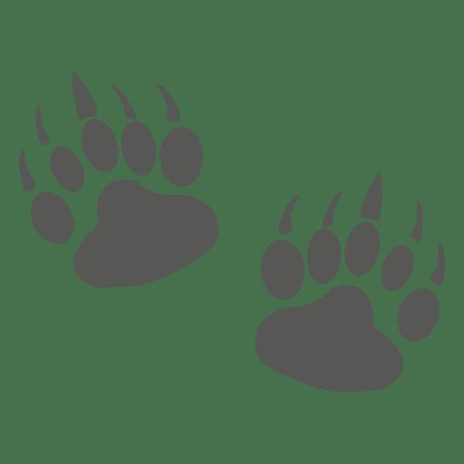 Glutton Footprint Icon