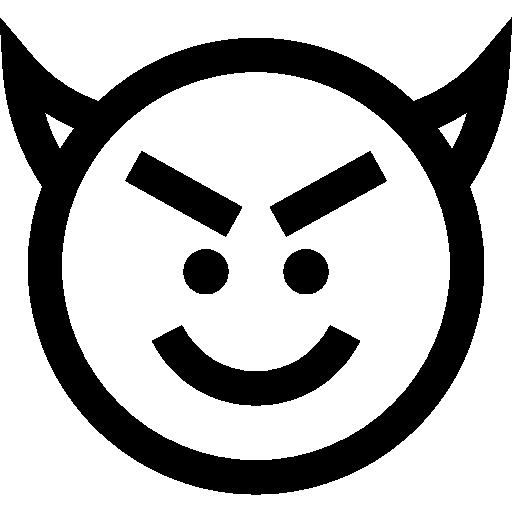 Devil, Emoticons, Emoji, Feelings, Smileys Icon