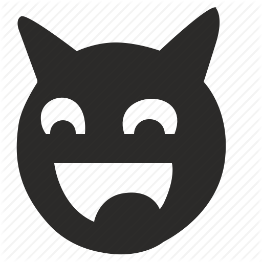 Devil, Face, Hell, Like, Smile Icon