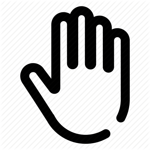 Gesture, Greeting, Hand, Hello, Stop Icon