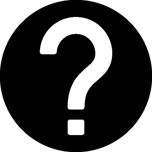 Help Circular Filled Button