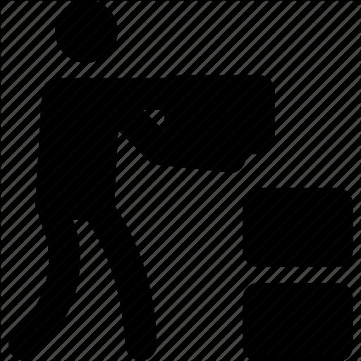 Helper, Helping, Running, Waged, Working Icon