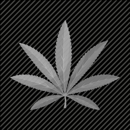 Cannabis, Drug, Hemp, Leaf, Marijuana, Plant Icon