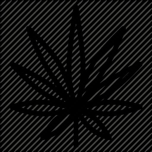 Cannabis, Hemp, Indica, Leaf, Marijuana Icon