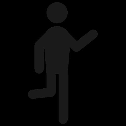 Hangout, Hanging, Run, Man, Human, Behaviour, Male, Hi Icon Free