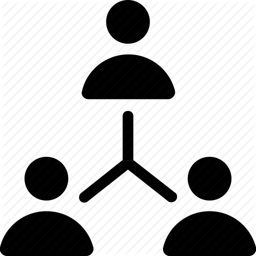 Group, Network, Organization, Team, Team Hierarchy Icon