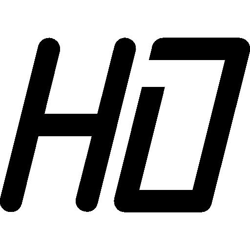 Hd, Hi, Tech Icon