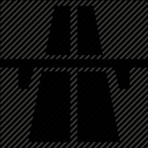 Expressway, Freeway, Highway, Motorway, Roadway Icon
