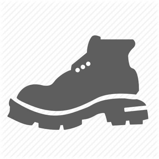 Boot, Hiking, Hiking Boot, Nature, Outdoors, Recreation, Walk Icon