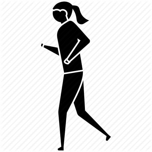 Walk Vector Human Running Transparent Png Clipart Free Download