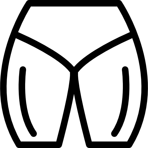 Male Hips And Quadriceps Icons Free Download