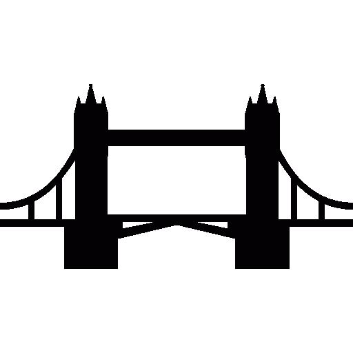 London Bridge Icons Free Download