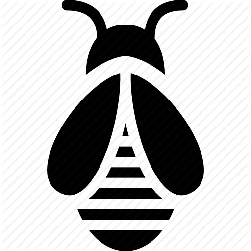 Bee, Bee Hive, Creative, Grid, Honeybee, Insects, Shape Icon