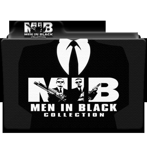 Men In Black Collection Folder Icon