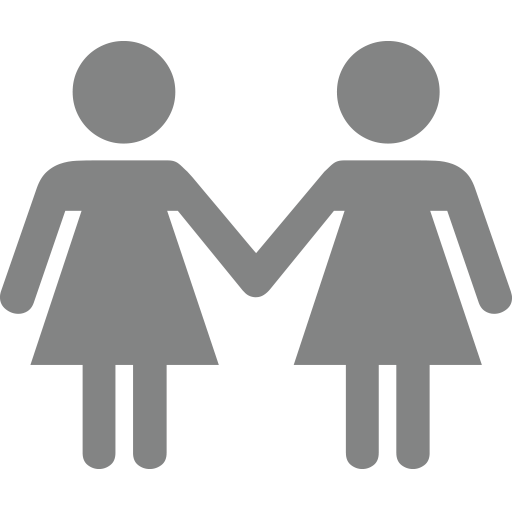Two Women Holding Hands Emoji For Facebook, Email Sms Id