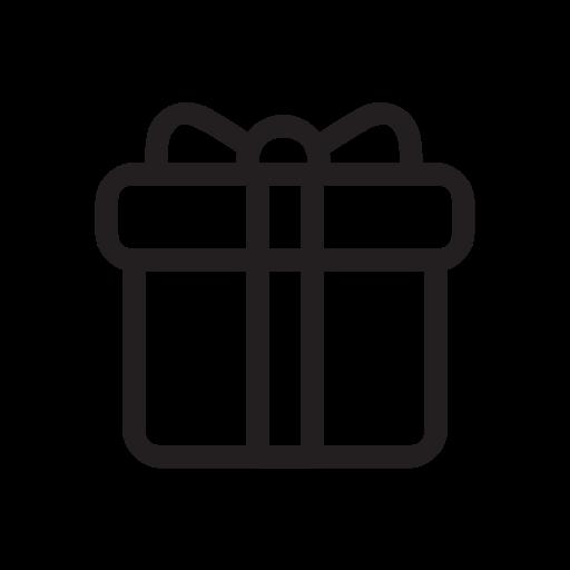 Presents, Gift, Santa, Xmas, Holiday Icon
