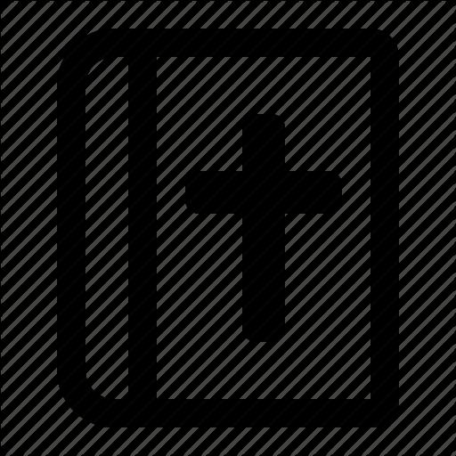 Bible, Christian, Church, Holy Book, Pray, Religious Book Icon