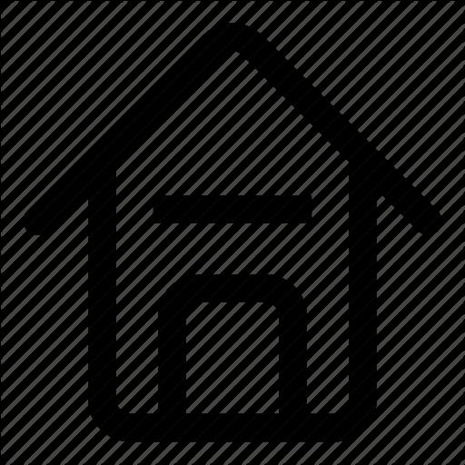 Address, Apartment, Back, Casa, Home, House Icon