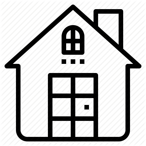 Address, Home, House, Resident Icon