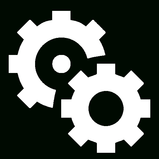 Automation Icon White Free Design Templates